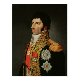 Carte Postale Portrait de maréchal Charles Jean Bernadotte