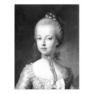 Carte Postale Portrait de Marie-Antoinette du Habsbourg