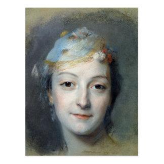 Carte Postale Portrait de Marie Fel 1757