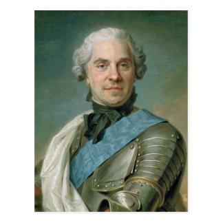 Carte Postale Portrait de Maurice Comte de Saxe