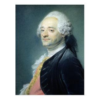 Carte Postale Portrait de Maurice Quentin de la Tour, 1750