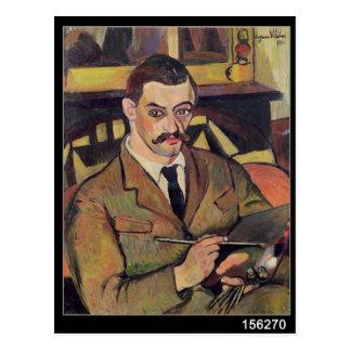 Carte Postale Portrait de Maurice Utrillo 1921