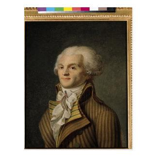 Carte Postale Portrait de Maximilien de Robespierre
