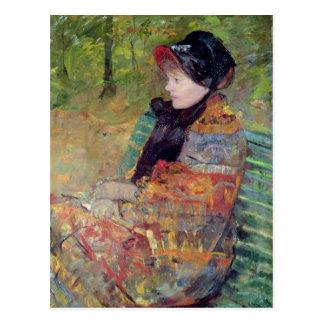 Carte Postale Portrait de Mlle. C. Lydia Cassatt, 1880
