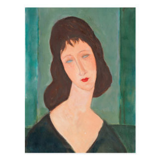 Carte Postale Portrait de Modigliani Amedeo