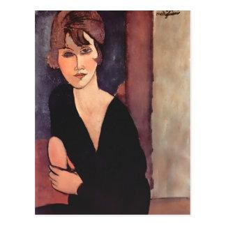 Carte Postale Portrait de Modigliani de Madame Reynouard