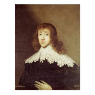 Carte Postale Portrait de monsieur Ralph Verney
