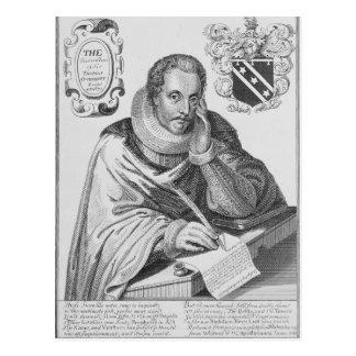 Carte Postale Portrait de monsieur Thomas Overbury
