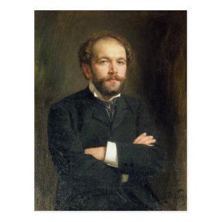 Carte Postale Portrait de Nikolai Karlovich Medtner 1906