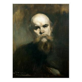 Carte Postale Portrait de Paul Verlaine 1890