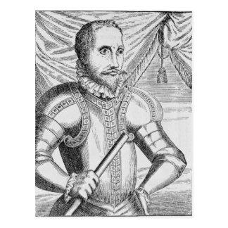 Carte Postale Portrait de Pedro de Valdibia