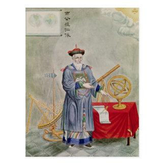 Carte Postale Portrait de père Ferdinand Verbiest