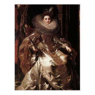 Carte Postale Portrait de Peter Rubens- de Maria Serra