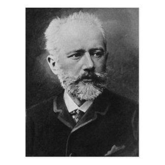 Carte Postale Portrait de photo de Tchaikovsky