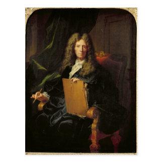 Carte Postale Portrait de Pierre Mignard c.1690