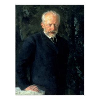 Carte Postale Portrait de Piotr Ilyich Tchaikovsky