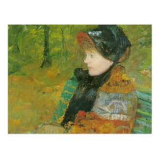 Carte Postale Portrait de profil de Lydia Cassatt, Mary Cassatt