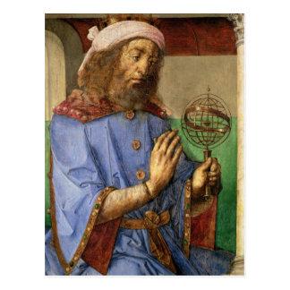 Carte Postale Portrait de Ptolémée, c.1475
