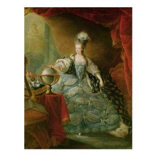 Carte Postale Portrait de reine de Marie Antoinette de la France