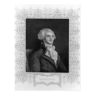 Carte Postale Portrait de Robespierre