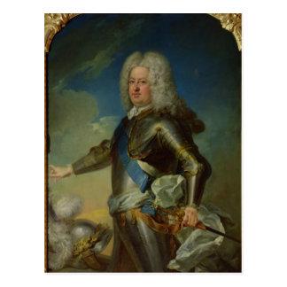 Carte Postale Portrait de roi de Stanislas Lesczinski de la