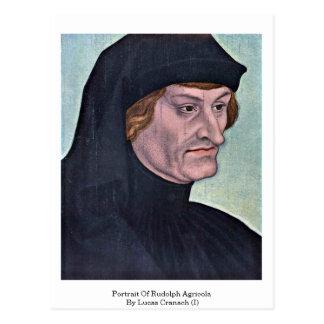 Carte Postale Portrait de Rudolph Agricola par Lucas Cranach (i)
