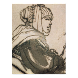 Carte Postale Portrait de Saskia, 1634