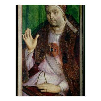 Carte Postale Portrait de Sixtus IV c.1475