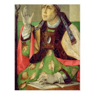 Carte Postale Portrait de St Augustine, c.1475