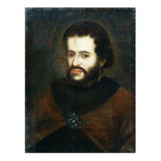 Carte Postale Portrait de tsar Ivan le V Alexeyevich