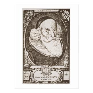 Carte Postale Portrait de Valentine Andreae (1568-1643), copie