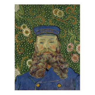 Carte Postale Portrait de Van Gogh | de facteur Joseph Roulin II