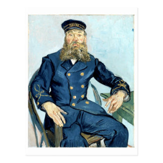Carte Postale Portrait de Van Gogh | du facteur Joseph Roulin