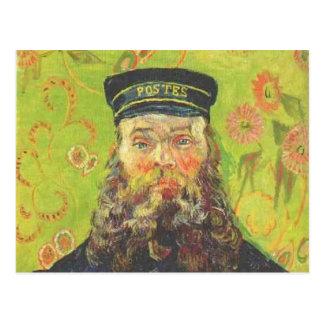 Carte Postale portrait de Van Gogh du roulin de Joseph de