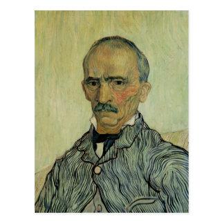 Carte Postale Portrait de Vincent van Gogh | de surveillant