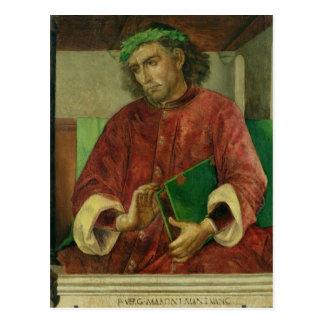 Carte Postale Portrait de Virgil, c.1475