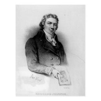 Carte Postale Portrait d'Edouard Jenner