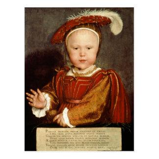 Carte Postale Portrait d'Edouard VI en tant qu'enfant, c.1538