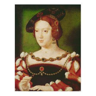 Carte Postale Portrait d'Eleanor de Hapsbourg
