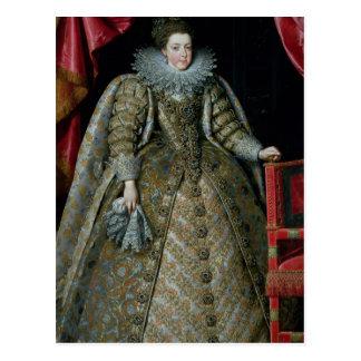 Carte Postale Portrait d'Elisabeth de la France 1615