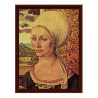 Carte Postale Portrait d'Elsbeth Tucher par Albrecht Dürer