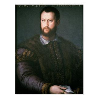 Carte Postale Portrait de'Medici de Cosimo I, XVIème siècle