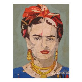 Carte Postale Portrait d'en Coyoacán de Frida Kahlo