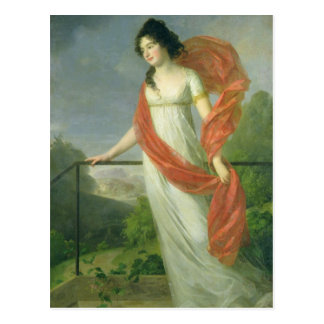 Carte Postale Portrait des fritures de Theresia de comtesse,