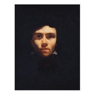 Carte Postale Portrait d'Eugene Delacroix c.1818-19