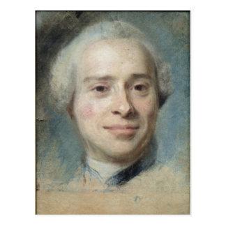 Carte Postale Portrait du d'Alembert 1753 de Jean Le Rond