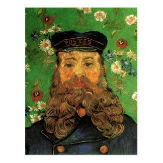 Carte Postale Portrait du facteur Joseph Roulin par Van Gogh