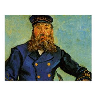 Carte Postale Portrait du facteur Joseph Roulin - Van Gogh
