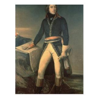 Carte Postale Portrait du Général Louis-Lazare Hoche