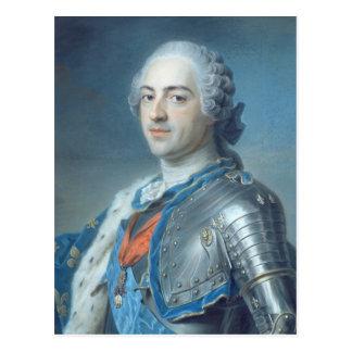 Carte Postale Portrait du Roi Louis XV 1748